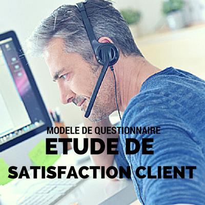Téléchargez le modèle de questionnaire d'étude de satisfaction