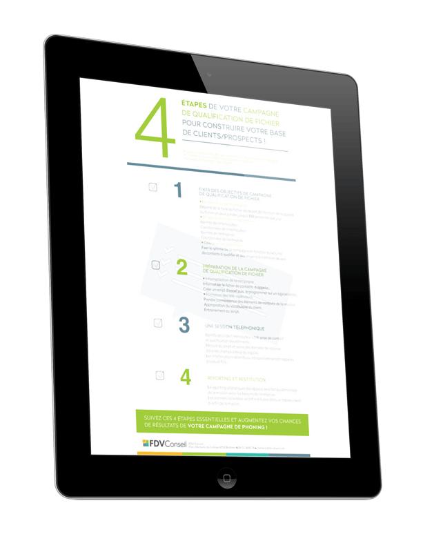 4 étapes pour réussir votre qualification de fichier