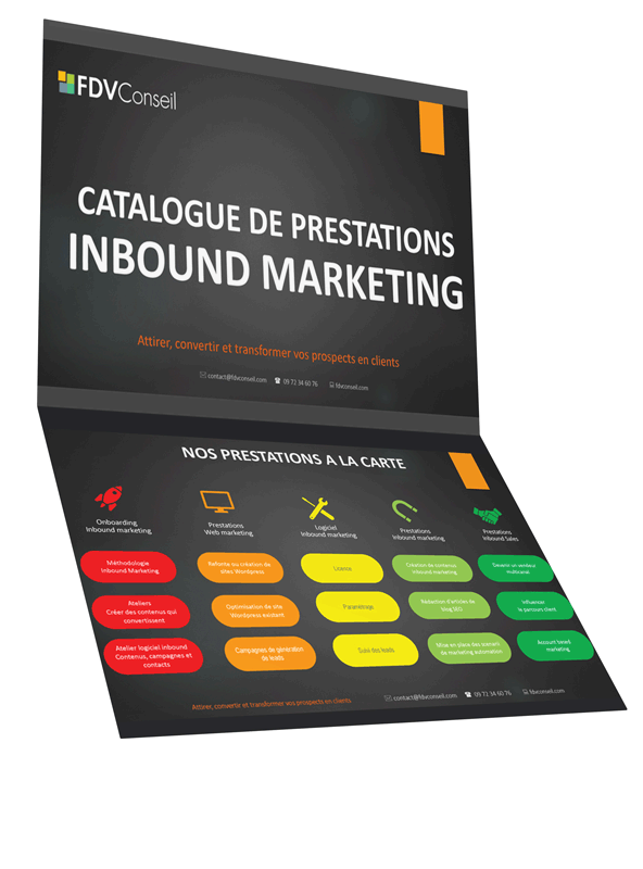 catalogue inbound marketing